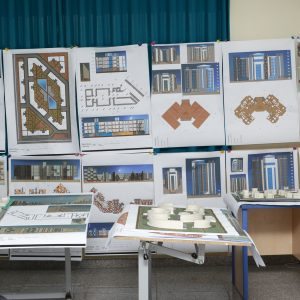 Architectural Engineering Department students submitted a  Multi-Story Housing projects
