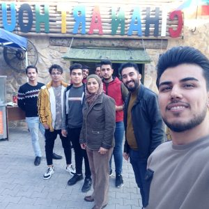 The students of Community Health Department visited the Art Center of Cihan University-Erbil