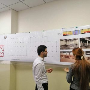 Pre-final submission for the 4th year students of Interior Design Department