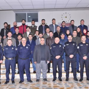 A scientific visit to the General Directorate of Criminal Evidence