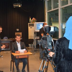 Media department visited the media department at EPU to exchange experiences