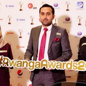 One of the graduates of the Interior Design Department won the Rwanga Innovation Award