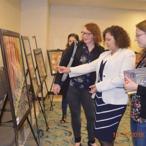 Conducting a Charitable exhibition for fine arts