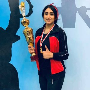 One of our students won Iraq Weightlifting Championship