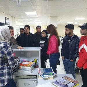 A scientific visit to Cihan University-Erbil Library