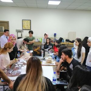 Conducting Model Making Workshop by the department of interior design