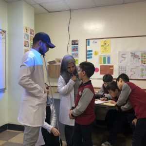 Second Stage students of Nutrition Department Implemented their Practical projects