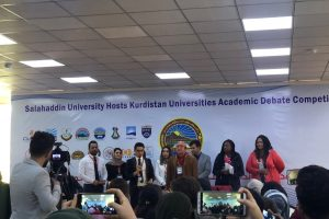 Judging Kurdistan Universities Academic Debate Competition I (1)