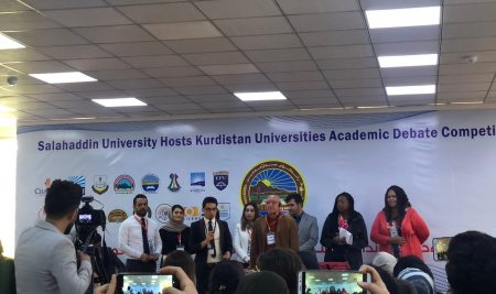 Two of Cihan University- Erbil staff members were chosen for Judging Kurdistan Universities Academic Debate