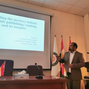 Presenting a Seminar on Academic Publishing