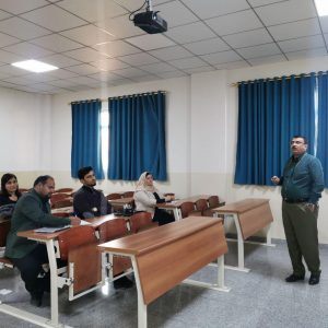 Presenting a seminar on Motivating Students