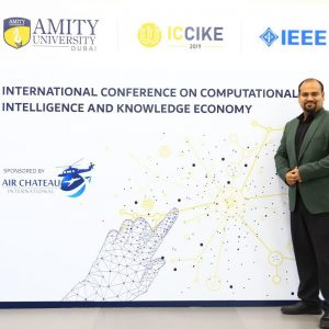 One of Computer Science department lecturers Participated in an International Conference