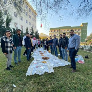 The Department of Communications and Computer Engineering held a social event for the fourth grade students