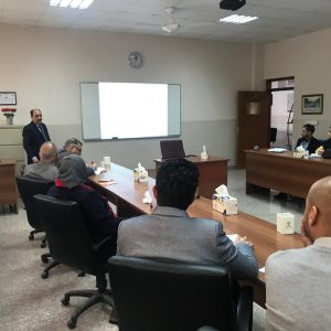The department of Financial and Banking  sciences conducted a joint workshop