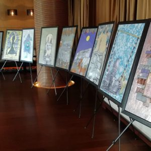 An exhibition for fine art