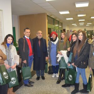 First Day Program of the Delegation from Nutrition Department of Cihan University- Erbil to Warsaw University of Life Science, Poland