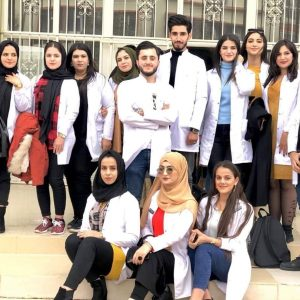 A scientific tripe of second year biology students to the science and health research center of Koya University