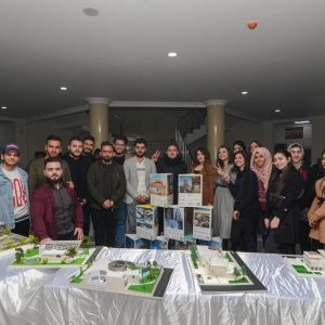 Architectural Engineering Department conducted an Architecture Exhibition
