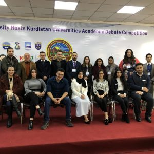 The students of translation department have visited Salahaddin University