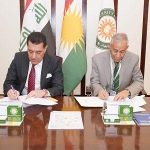 Memorandum of understanding between Cihan University – Erbil and Bilad Al-Rafidain University College
