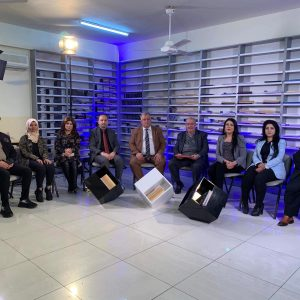 Participating a Program on Kurdistan TV satellite channel