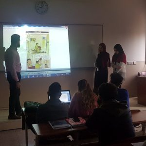 English short stories activity at the accounting department