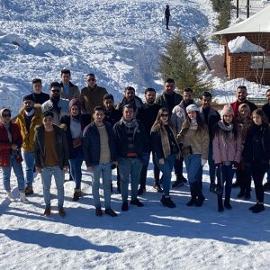 Organising a picnic for Accounting Department students to Korek mountain