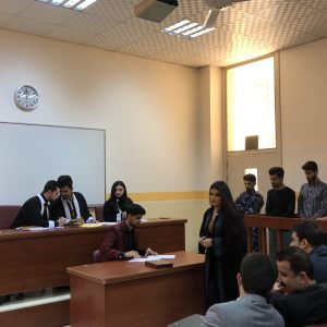 Fourth virtual court held at the department of Law