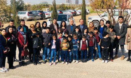 Cihan university-Erbil hosted the children of Erbil Orphanage