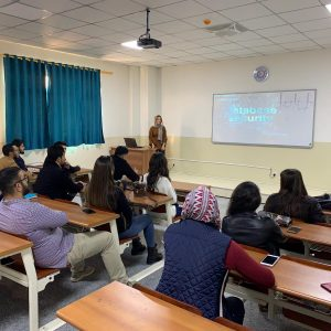 Communications and Computer Engineering have a Seminar presents from 4th Stage Student In secure communication Course