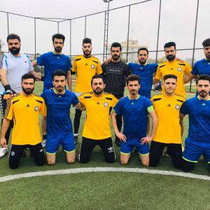 The second Futsal match of Sport Department in Cihan university League