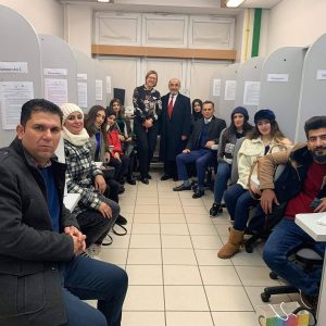 Fifth Day Program of the Delegation from Nutrition Department of Cihan University- Erbil at Warsaw University of Life Science, Poland