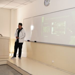 The Department of Communications and Computer Engineering organized a Seminar for A tenth-year student from cihan College School