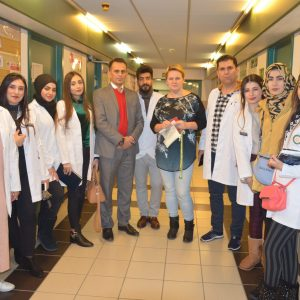 Fourth Day Program of the Delegation from Nutrition Departmentof Cihan University- Erbil at Warsaw University of Life Science, Poland