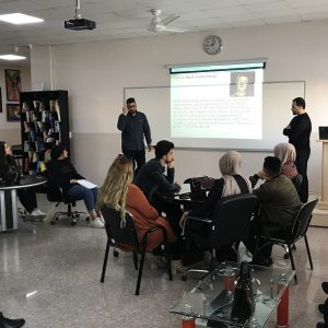 Seminars on current issues presented by first year students
