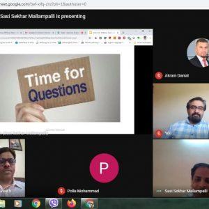 Presenting an Online Seminar on Grammar