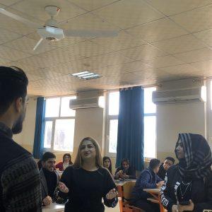 Improving Public Speech skills of the students