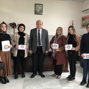 Scientific Visit Directorate of Educational Supervision in Erbil
