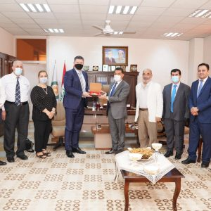 The Consul general of the republic of Poland in Erbil visited Cihan University-Erbil