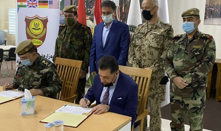 The Ministry of Peshmerga And Cihan University – Erbil Sign a Joint Cooperation Agreement