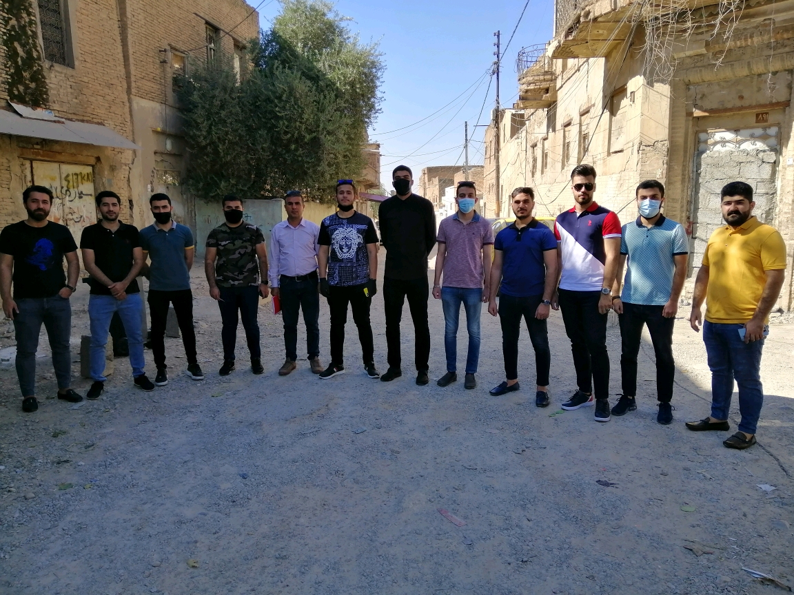 A scientific visit to some urban and archaeological areas in Erbil