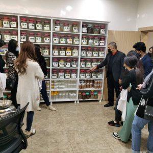 A scientific visit of fourth stage students from Nutrition Department