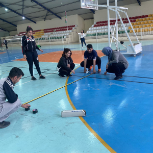 The revival of Badminton stadium in Cihan university hall