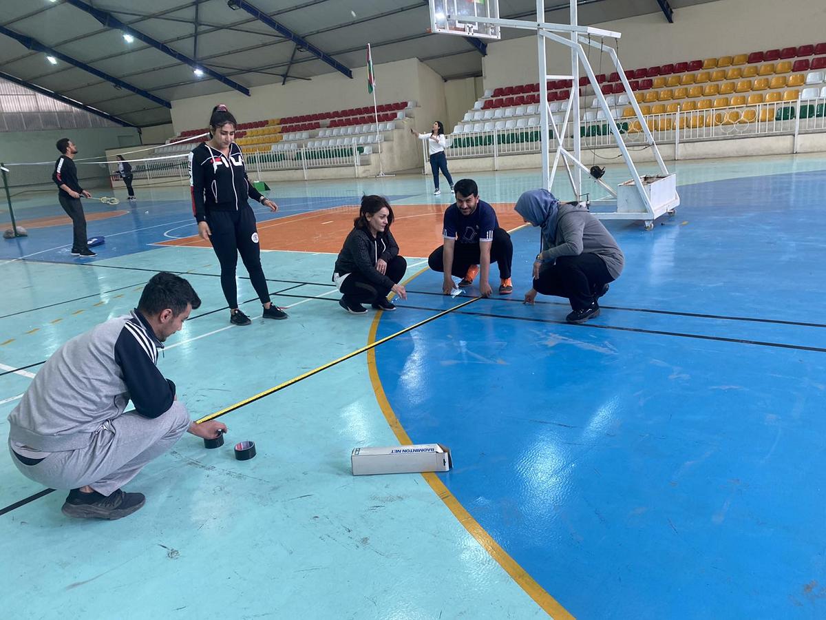 The revival of Badminton stadium in Cihan university hall