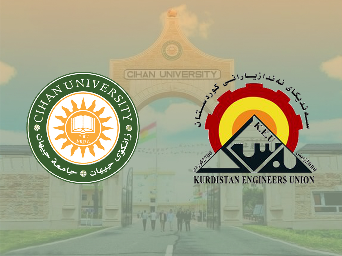 Cihan University – Erbil signs an agreement with the Syndicate of Engineers