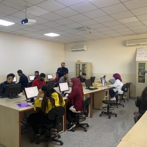 A competition between  first-stage students in the subject of computer skills