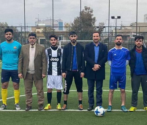 Organizing a friendly soccer game in Communications and Computer Engineering Department