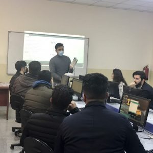 A scientific visit to the educational laboratories of the Department of Communication Engineering and Department of Computer Science
