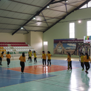 Friendly match between students in the Department of Sports Sciences and Erbil Women's Handball Club