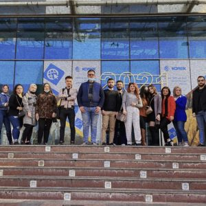 Second year students in the department of Interior Design visited the Family Mall